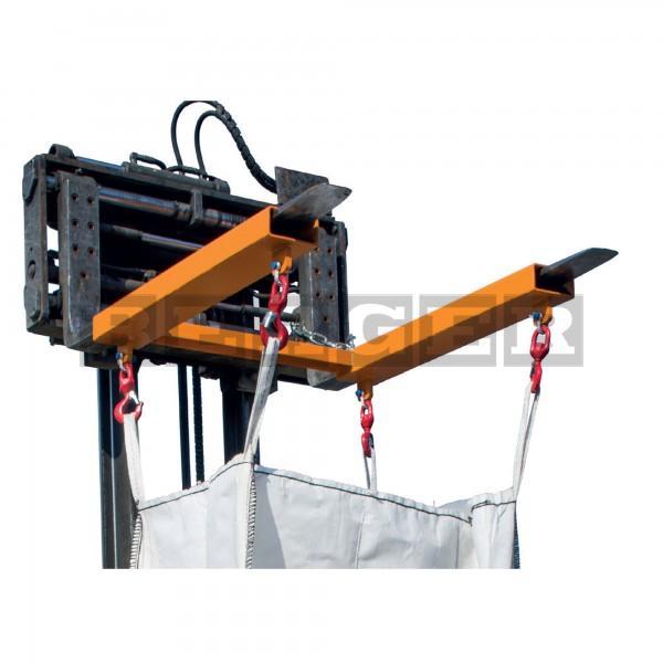 Traverse für Big-Bags Typ TBB-W Staplerbetrieb