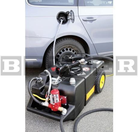 Absaug- und Tanktrolley für Kraftstoffe 95 l