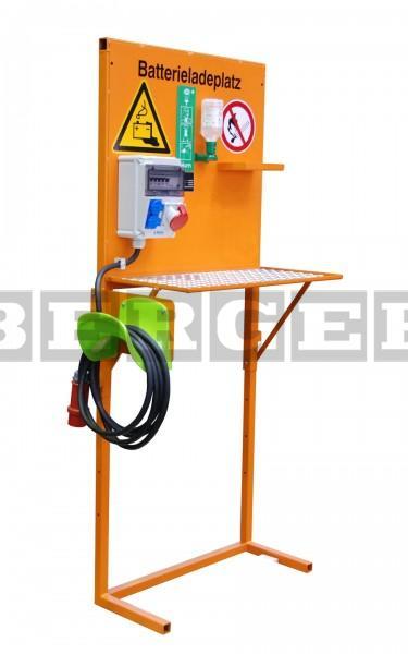 Batterieladeplatz Typ BL für Elektrostapler